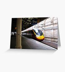 Birmingham Bound - Waverley Station, Edinburgh Greeting Card