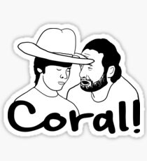 Pegatina The Walking Dead- Coral