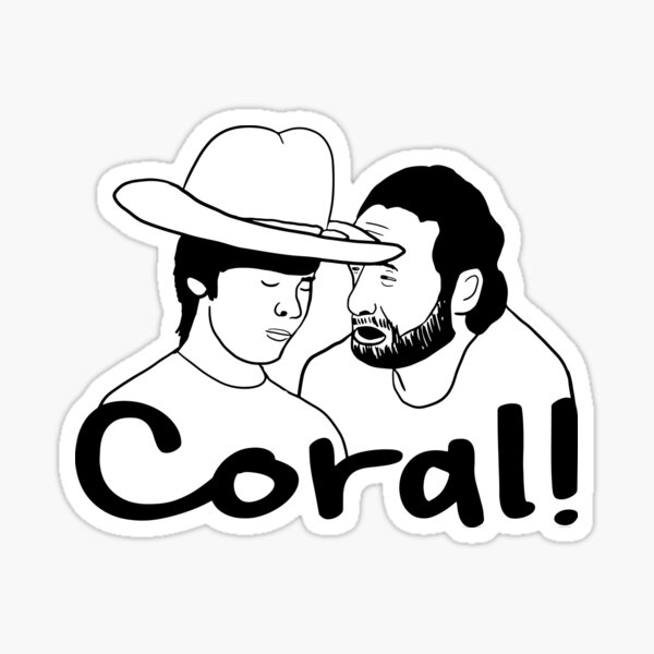 The Walking Dead - Coral Sticker