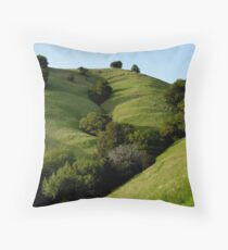 Mount Tamalpais Composition #2 Throw Pillow