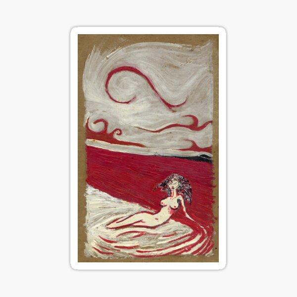 Mermaid Of Blood Sticker