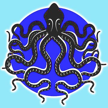 OCTOPUS SYMBOL by TOMSREDBUBBLE