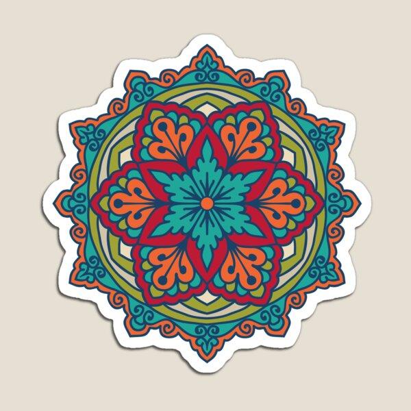 Mandala - Kreis-ethnische Verzierung Magnet