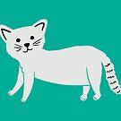 Kleine Katze, Krickente von Jacqueline Hurd