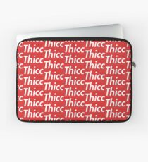Thicc - Supreme Parody Laptop Sleeve