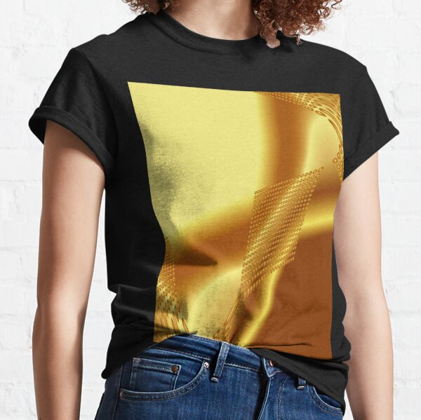 Gold glänzend Classic T-Shirt