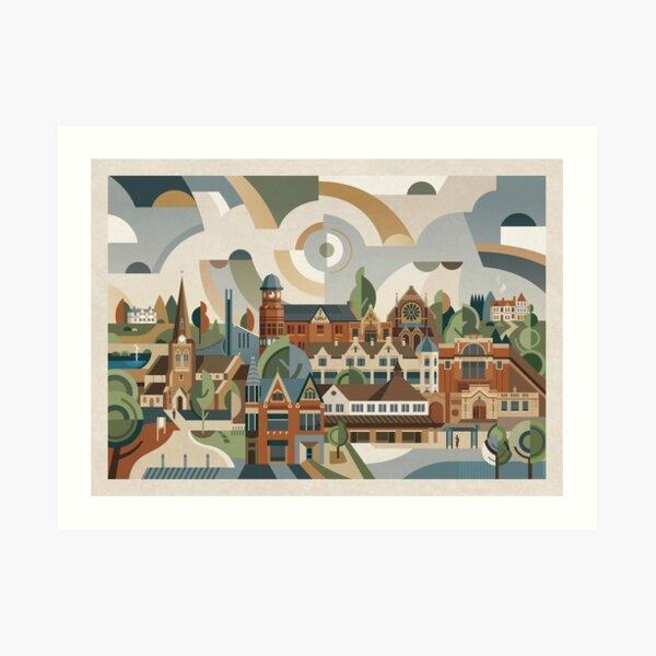Kings Heath Art Print