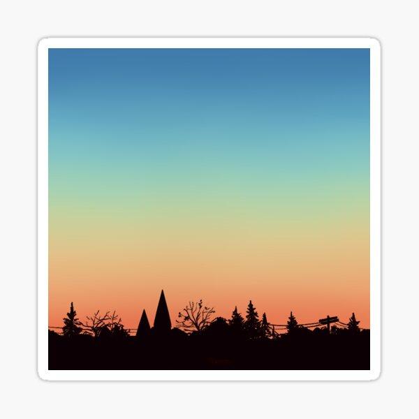 Sonnenuntergang Sticker