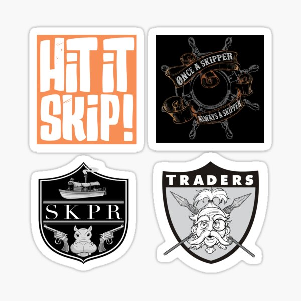 TFJC Stickers- Shields and Graphics Sticker