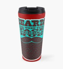 Beards! Travel Mug