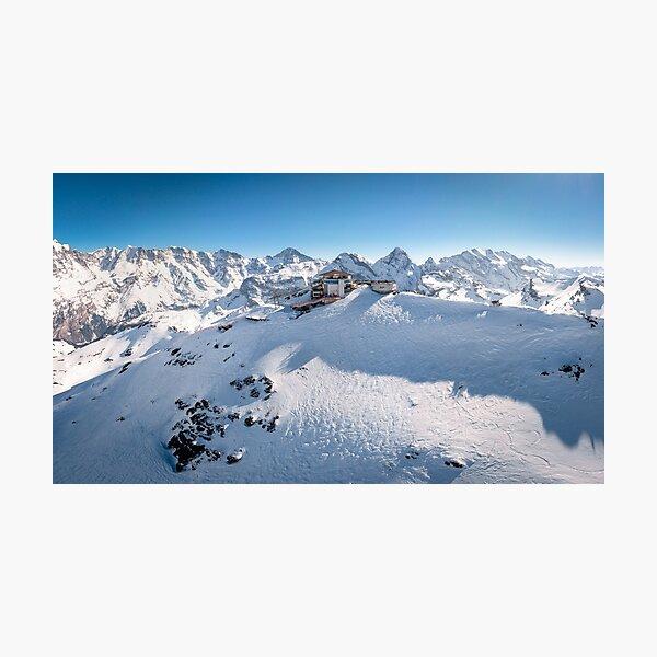 Schilthorn - Piz Gloria Photographic Print