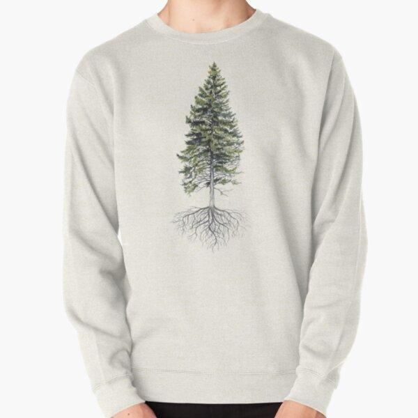 Rooted Pine Tree  Pullover Sweatshirt