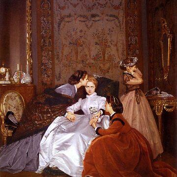 """Toulmouches """"Die widerstrebende Braut"""" von laurens-doodles"""