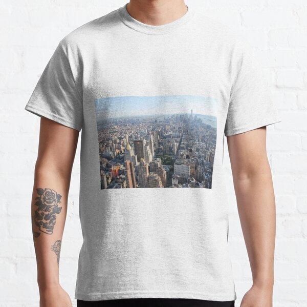 #famousplace #internationallandmark #NewYorkCity #USA americanculture city cityscape skyscraper architecture panoramic Classic T-Shirt