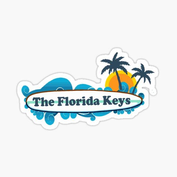 The Florida Keys. Sticker