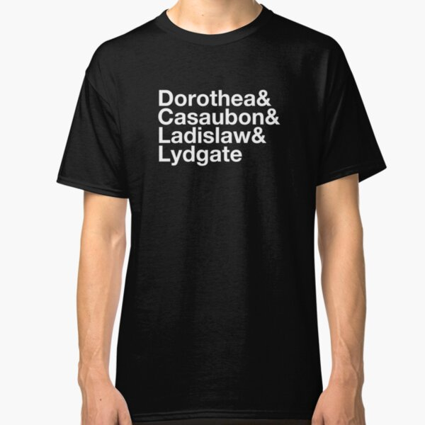 Middlemarch by George Eliot Character List  Classic T-Shirt