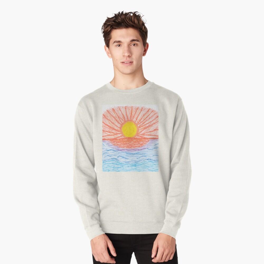 Merch #28 -- Sea Sunset Pullover Sweatshirt