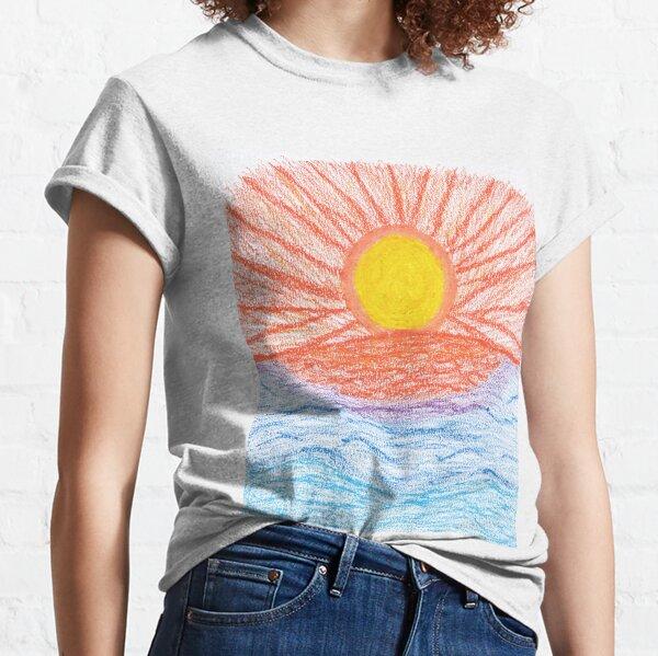 Merch #28 -- Sea Sunset Classic T-Shirt