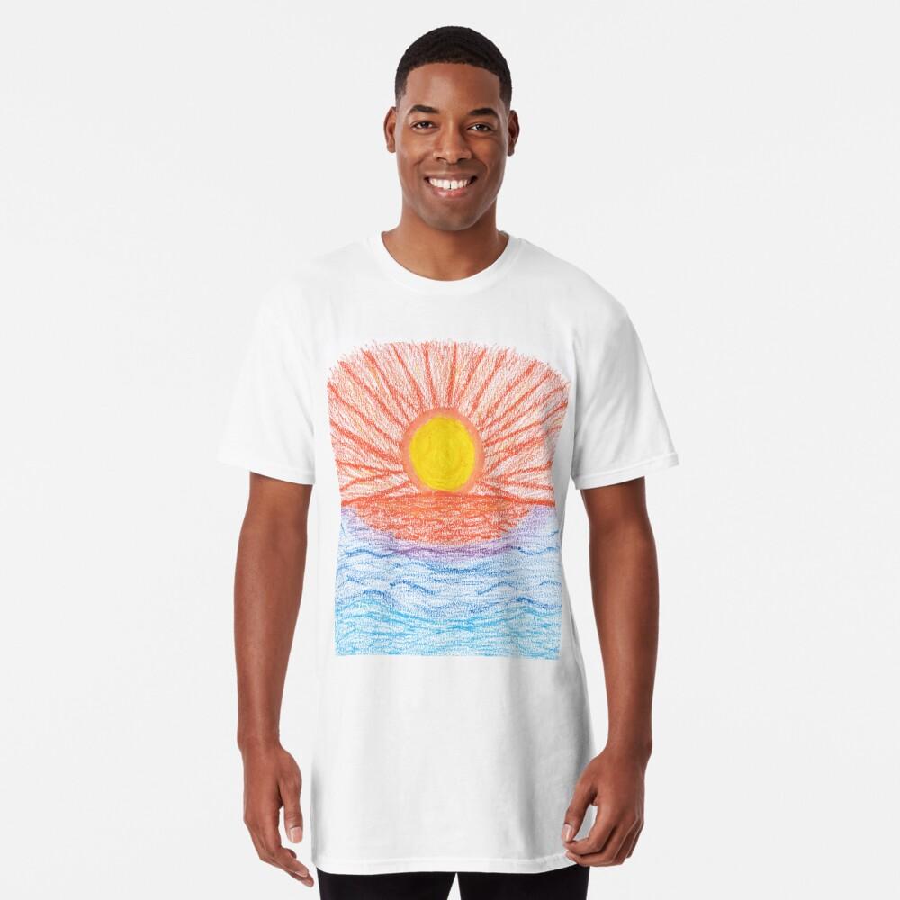 Merch #28 -- Sea Sunset Long T-Shirt