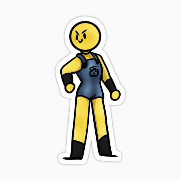 Tumblr Roblox Decal Picture 01 Roblox - Roux Stickers Redbubble