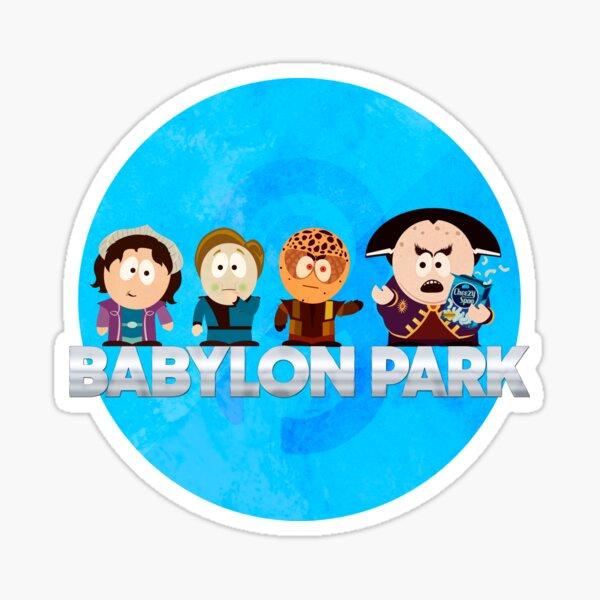 Babylon Park Sticker