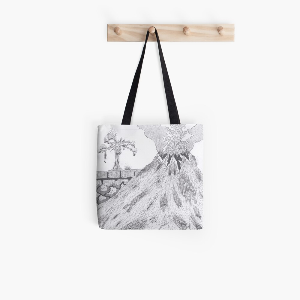 Merch #36 -- Marblava Volcanicity Tote Bag