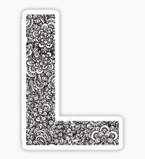L Sticker