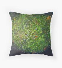 Cellular Universe 5 Throw Pillow