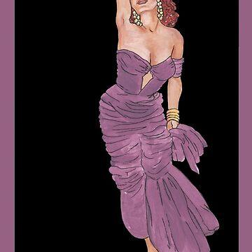 Lovely Rita Pinup Girl de redqueenself