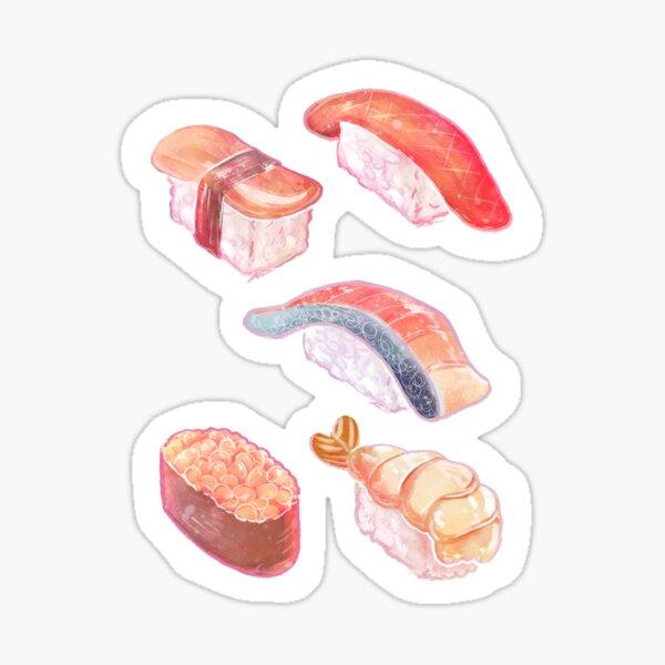 Sushi Stickers MultiPack Sticker