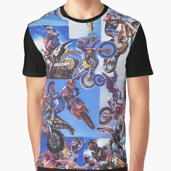 Fight Club motorcross Graphic T-Shirt