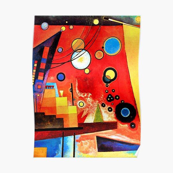 Wassily Kandinsky - Rouge lourd Poster