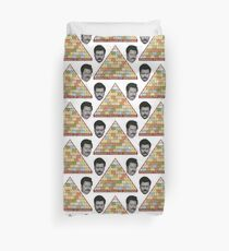 Swanson Pyramid of Greatness Duvet Cover