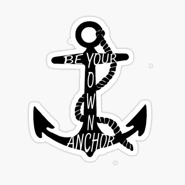C Dock Anchor Decal