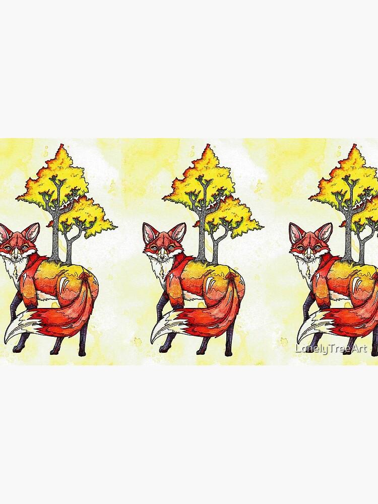 Forest Fox by LonelyTreeArt