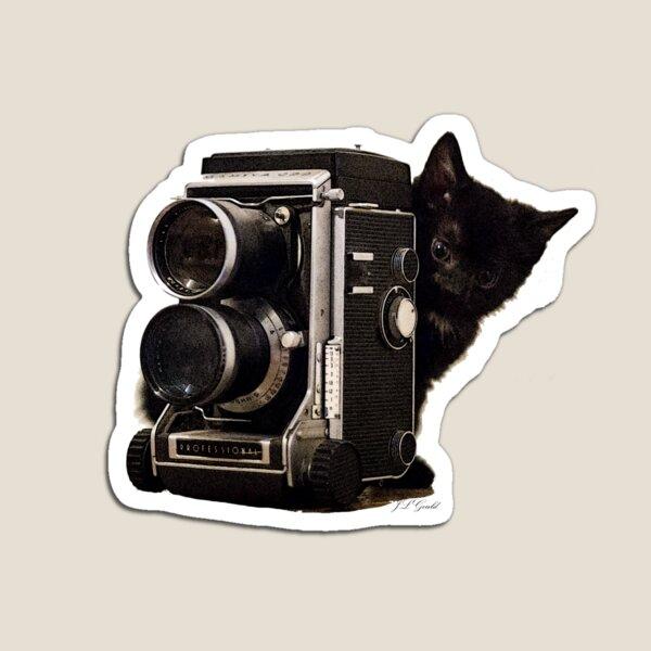 Feline Photographer Magnet