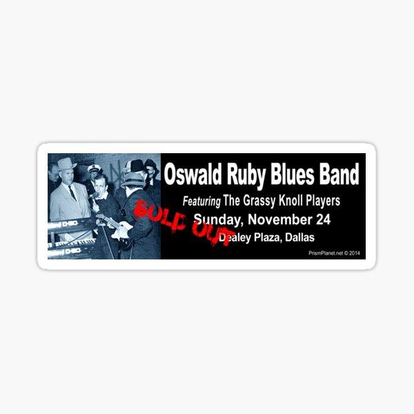 Oswald Ruby Blues Band Sticker
