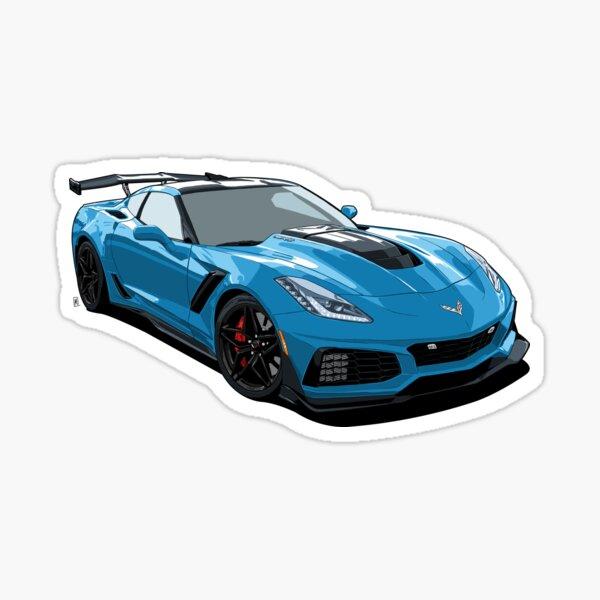 Corvette ZR1 Sticker