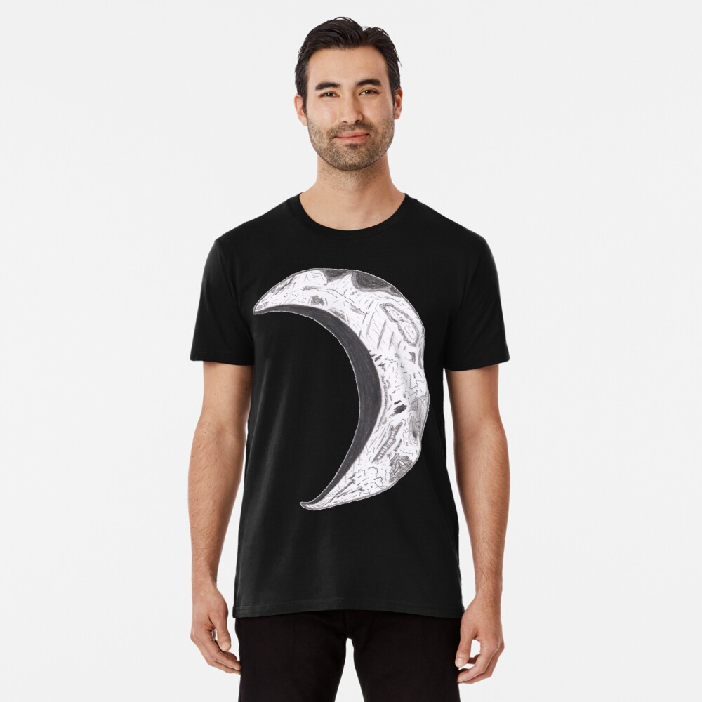 Merch #25 -- Weathered Crescent Premium T-Shirt