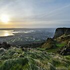 Sunrise Over Belfast from Cave Hill by Galway COW