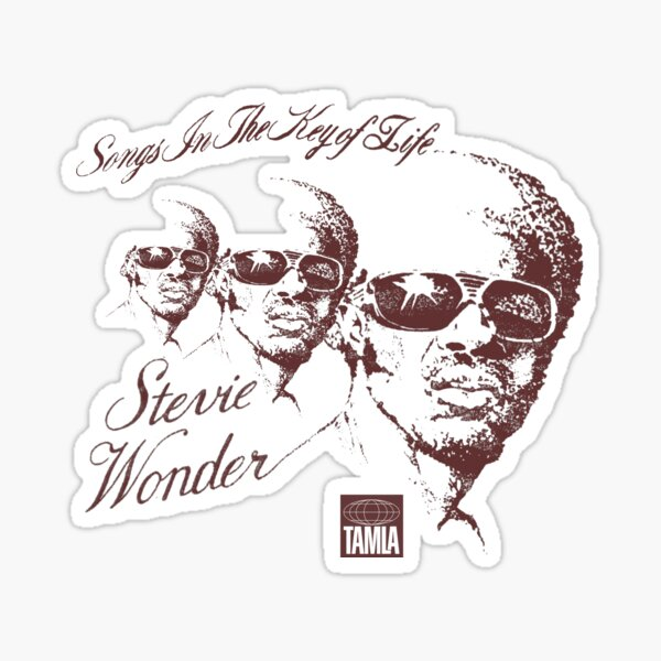 Stevie Wonder - Songs In The Key Of Life #2 Sticker