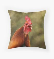 Harold the Herald Throw Pillow