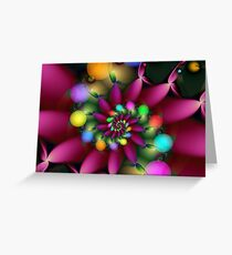 Day Flower Greeting Card