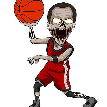zombie basketball by 8fiveone4