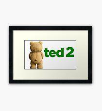 Ted 2 Merch Framed Print