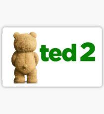 Ted 2 Merch Sticker
