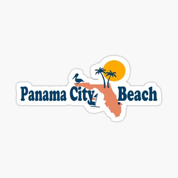 Panama City Beach - Florida. Sticker