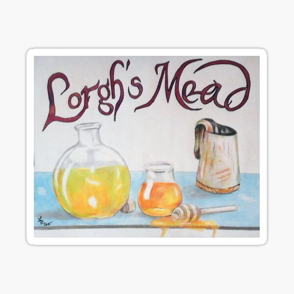 Lorgh's Mead Sticker