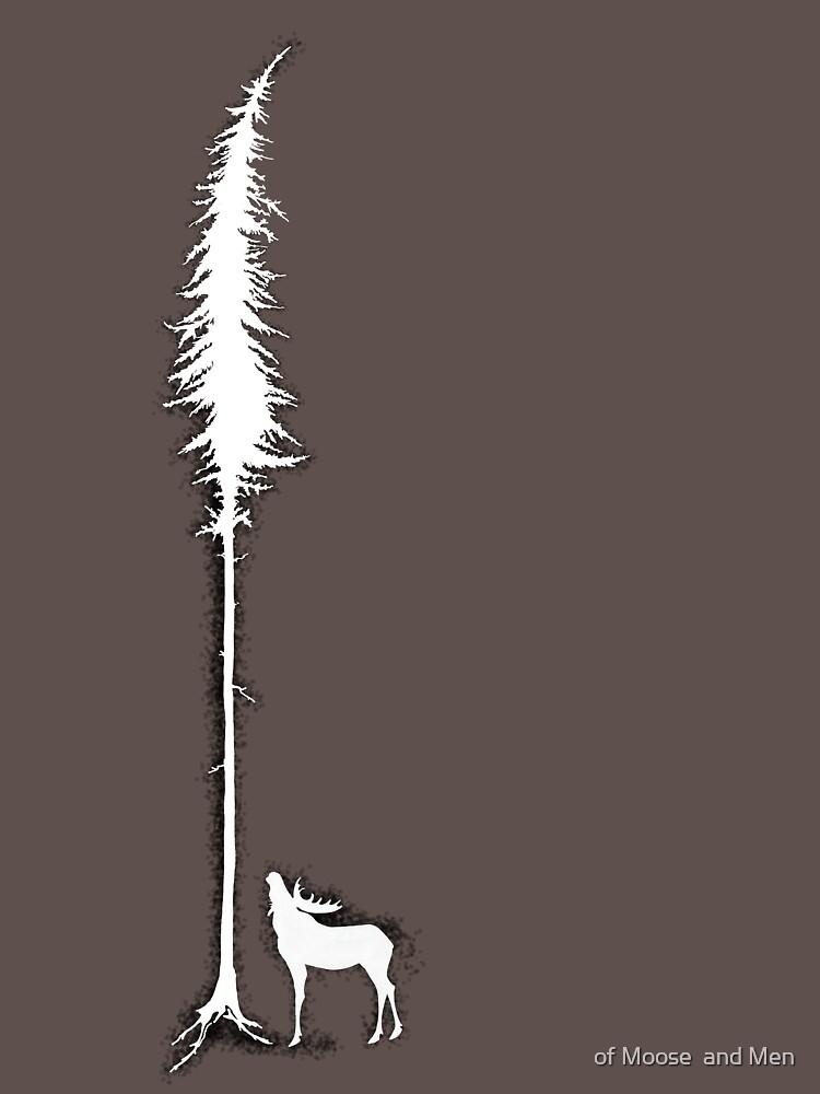 Desperate Moose (white) by ofmooseandmen