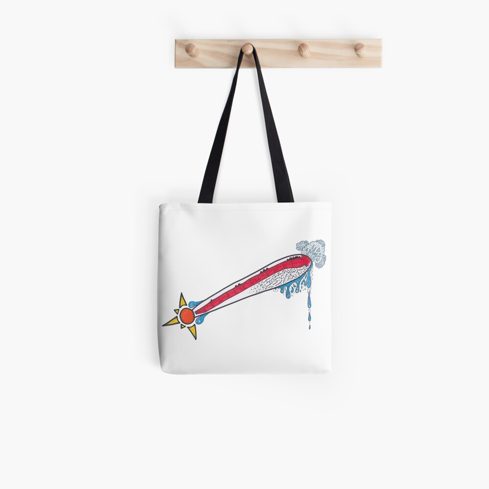 Merch #21 -- Thermometer Exclamation Tote Bag